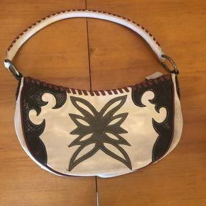 BCBG GIRLS Western-Style Leather Shoulder Bag